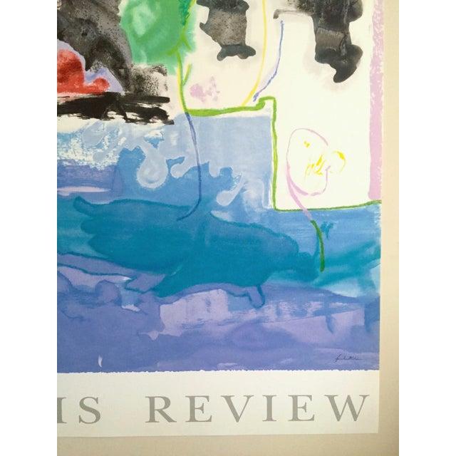 "Paper Helen Frankenthaler Rare Ltd Edtn Hand Pulled Original Silkscreen Print "" West Wind "" 1996 For Sale - Image 7 of 13"