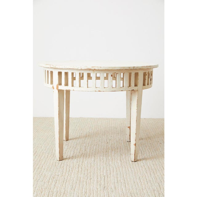 1980s Pair of Richard Mulligan Distressed Centre or Side Tables For Sale - Image 5 of 13