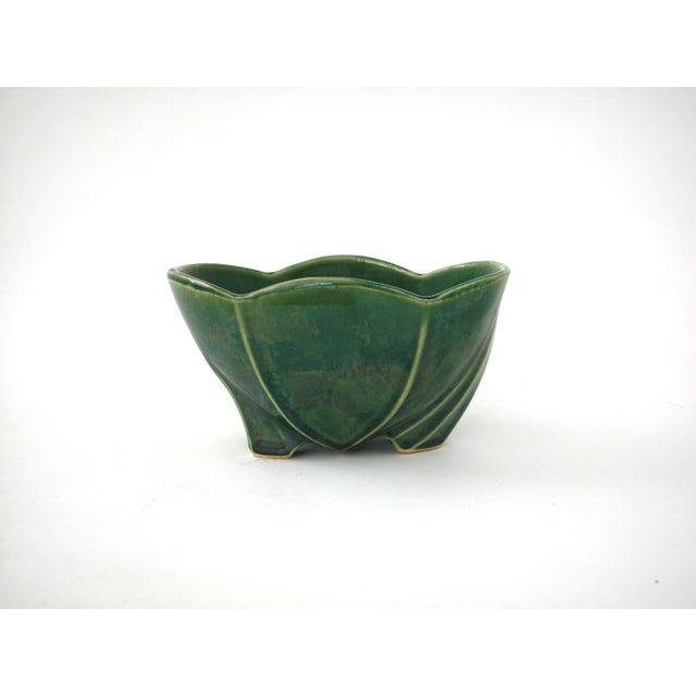 McCoy Green Pottery Vase - Image 2 of 10