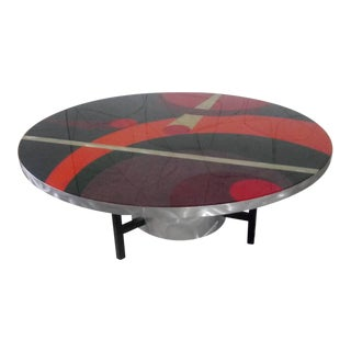 1990s Post Modern Cocktail Table For Sale