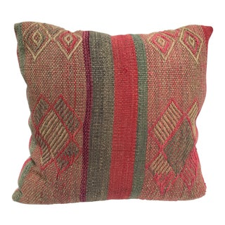 Moroccan Pastel Colors Bohemian Throw Pillow For Sale