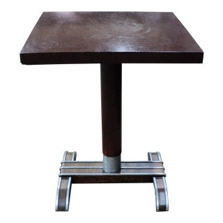 20th Century French Bistro Cafe Table For Sale