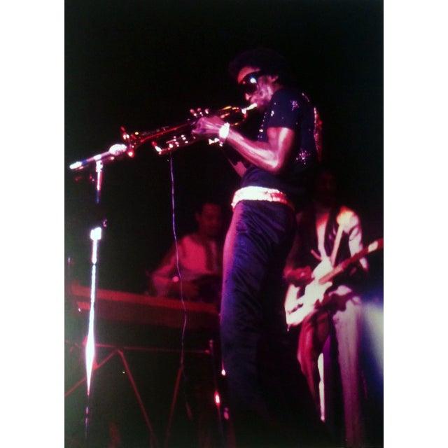 Original Miles Davis Photo Signed - Image 1 of 2