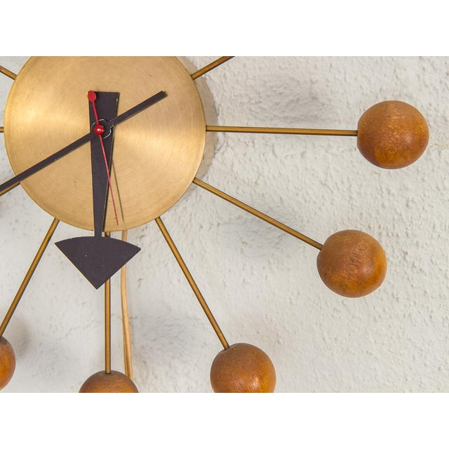 1950s George Nelson for George Nelson Associates Original Ball Clock For Sale In New York - Image 6 of 9