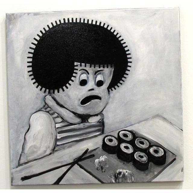 """Sushi"" Pop Art Cartoon by Junior Martin - Image 2 of 3"