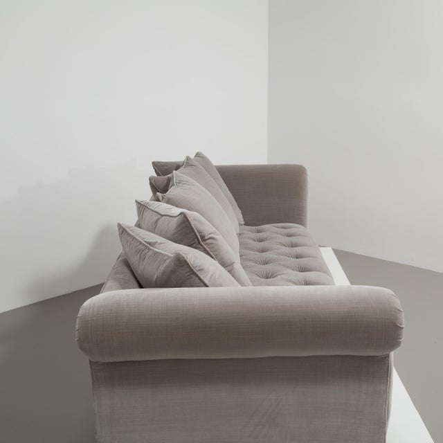 Customizable The Deep Buttoned Sofa by Talisman Bespoke For Sale - Image 6 of 11