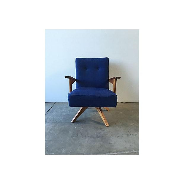Mid-Century Rocker Swivel Chair - Image 2 of 8