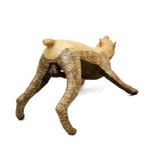 Contemporary Paper Mache Dog by Yvan Munoz Preview