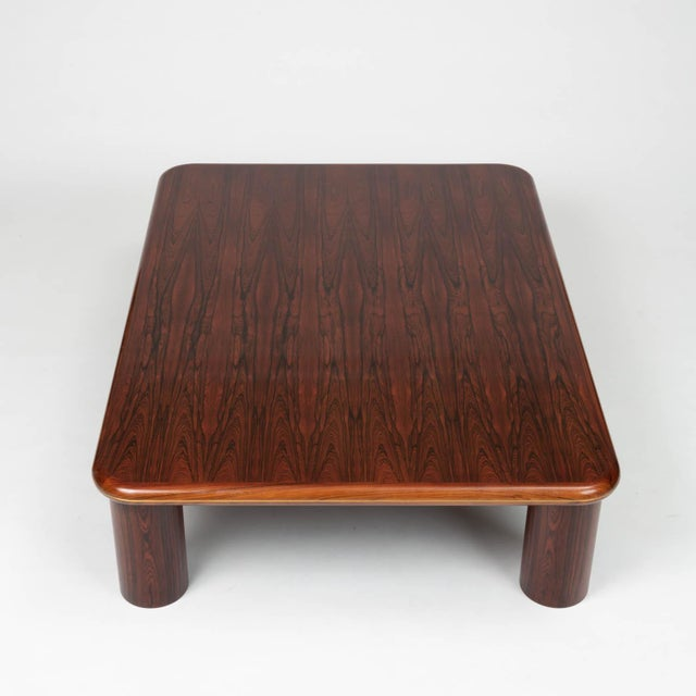 Monumental Danish Rosewood Coffee Table For Sale - Image 4 of 9