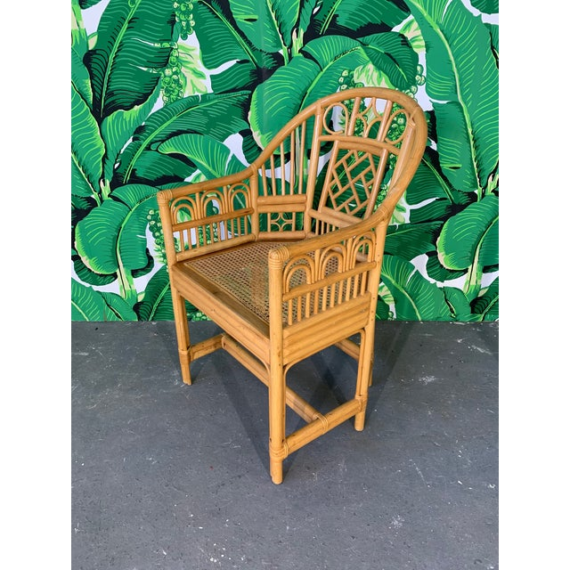Asian Brighton Pavillion Style Dining Chairs - Set of 4 For Sale - Image 3 of 9
