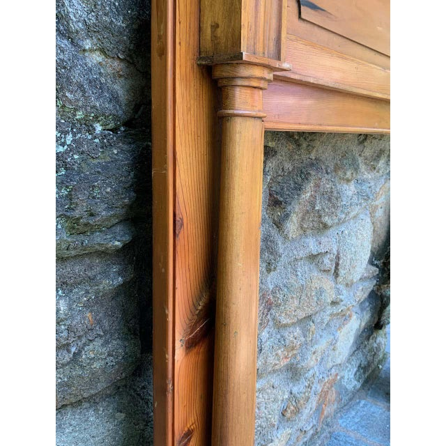 Early 19th Century Pine Fireplace Mantel For Sale - Image 11 of 13