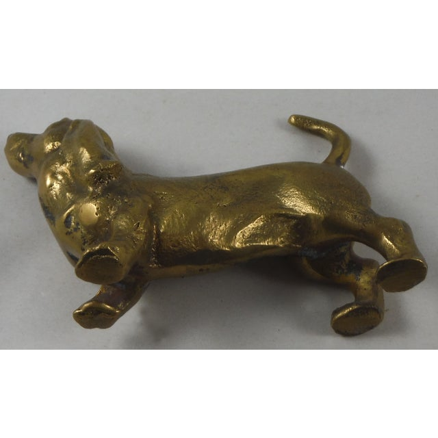 Brass Dachshund Figurine - Image 4 of 4
