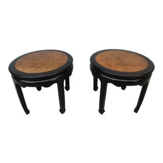 Mid-Century Modern Century Furniture Chin Hua Side Tables - a Pair For Sale