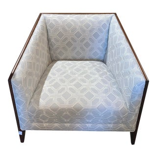 Bernhardt Furniture Aubree Chair With Kravet Fabric For Sale