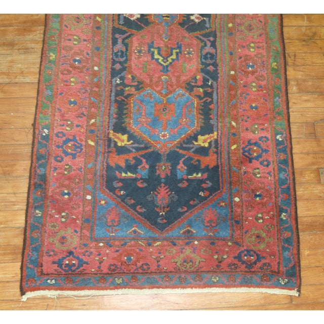 Vintager Persian Runner - 3′ × 16′ - Image 3 of 5