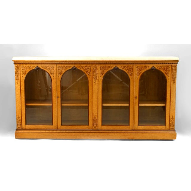 19th Century French Charles X Sideboard Cabinet For Sale - Image 5 of 5