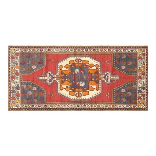 """1960s Turkish Oushak Rug - 4' X 8'8"""" For Sale"""