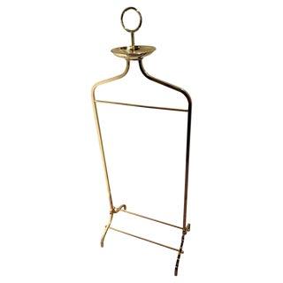 Brass Gentleman Valet Designed for Desi Arnaz by Charles Hollis Jone For Sale
