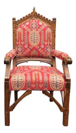 Image of Gothic Revival Accent Chairs