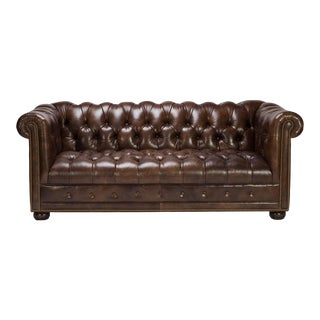 Hancock & Moore Kent Chesterfield Leather Sofa