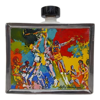 "1979 ""LeRoy Neiman"" Sport Commemoratives -Number 1 In A Series - Decorative Ceramic Bottle."