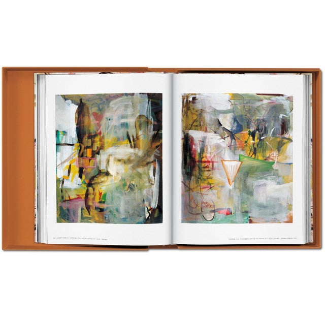 Paper TASCHEN Books Albert Oehlen Monograph Painting Collection Autographed by Albert Oehlen For Sale - Image 7 of 8