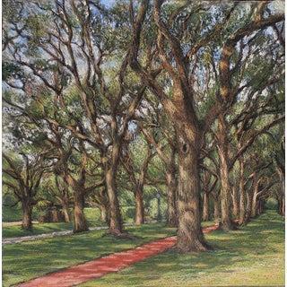 "Garrett Middaugh ""North Blvd 1"" Pastel Painting For Sale"