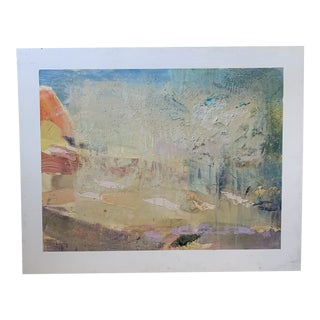 """Original Painting by Robert Minuzzo """"Untitled #82"""" Signed 1985 For Sale"""