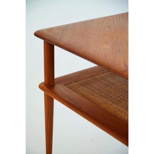 France & Son Peter Hvidt and Orla Mølgaard-Nielsen Scandinavian Modern Minerva Side Table For Sale - Image 4 of 6