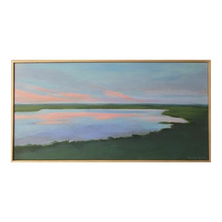 Sunset Painting by Anne Carrozza Remick For Sale