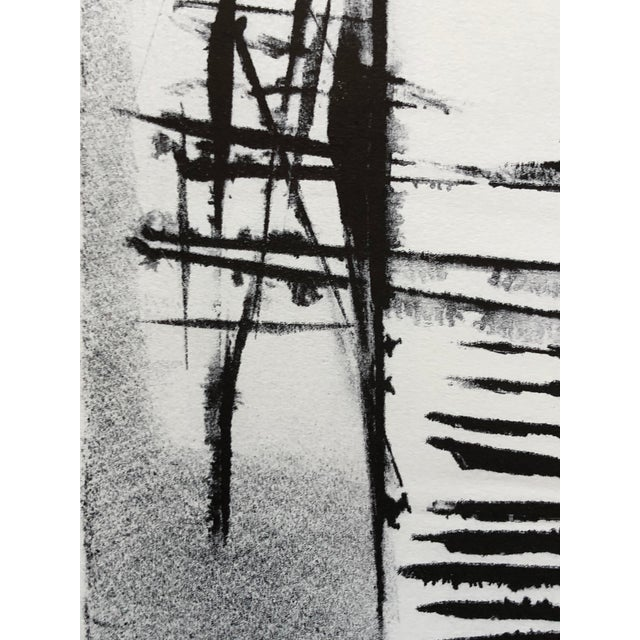 Jerry Opper Mid Century Abstract Stone Lithograph For Sale In New York - Image 6 of 10