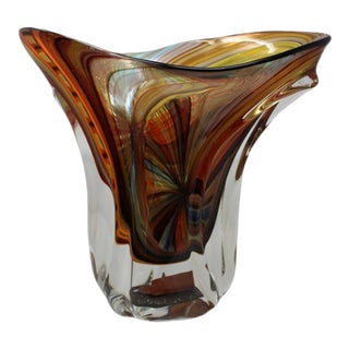 Massimiliano Schiavon - Wow Block Vase by Schiavon For Sale