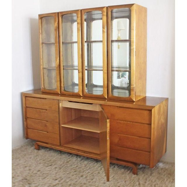 Mid-Century Rare Edmund Spence Bar or Wall Unit - Image 4 of 5