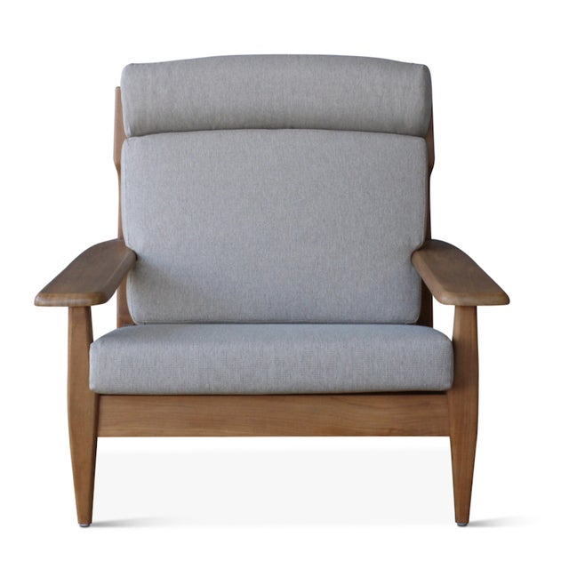 Our popular Formosa armchair is now available in an outdoor version! Hand-crafted with a teak frame, this chair has all...