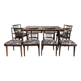 1950s Mid-Century Modern J. L. Metz Dining Set - 7 Pieces For Sale