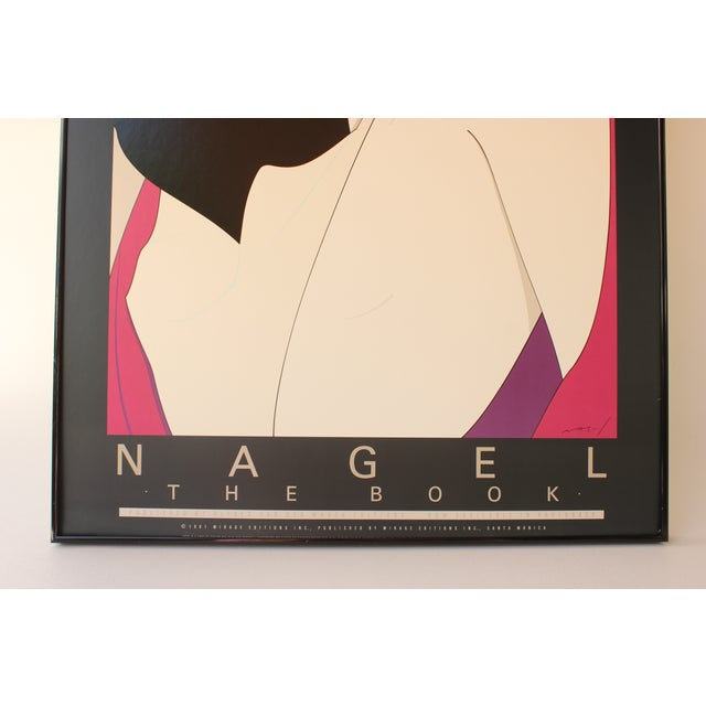 Patrick Nagel Lithograph Print For Sale - Image 4 of 6