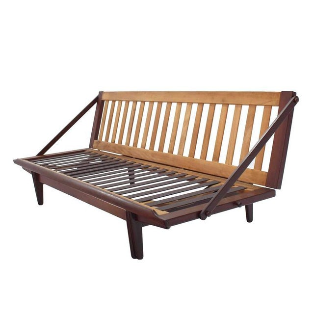 White Danish Modern Teak Daybed For Sale - Image 8 of 8