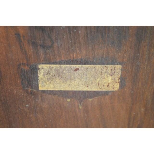Antique Gothic Inspired Mahogany 2 Door Bookcase For Sale In Philadelphia - Image 6 of 12