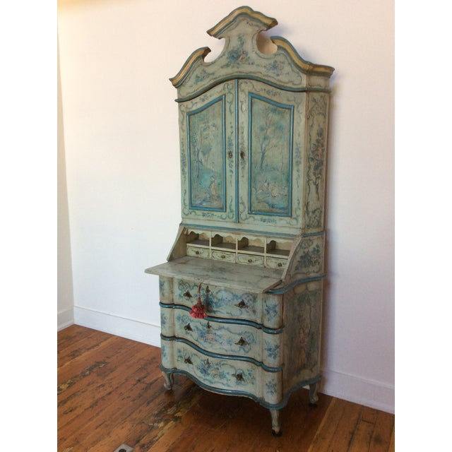 Antique Venetian Secretary - Image 9 of 9