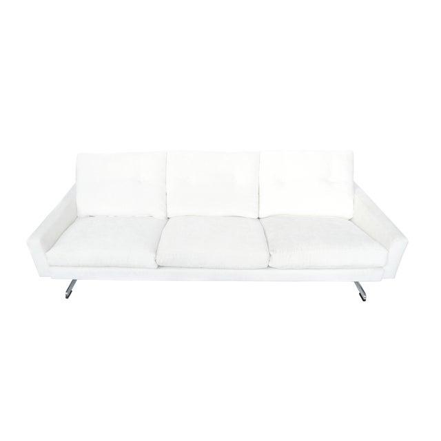White Danish Modern Sofa by Johannes Andersen - Image 1 of 10