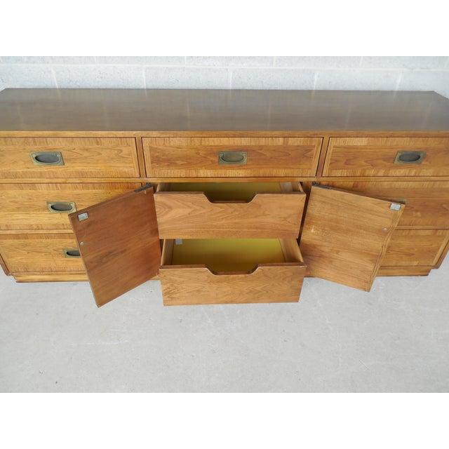 "John Stuart Campaign Style Credenza / Dresser 28.5""H x 76""W - Image 7 of 11"
