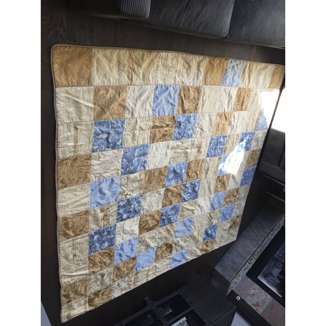 Sherry Koppel Designs Handmade King Size Quilt or Wall Hanging For Sale - Image 9 of 12