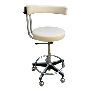 Vintage Dentsply Medical Doctor Dental Chair Stool For Sale