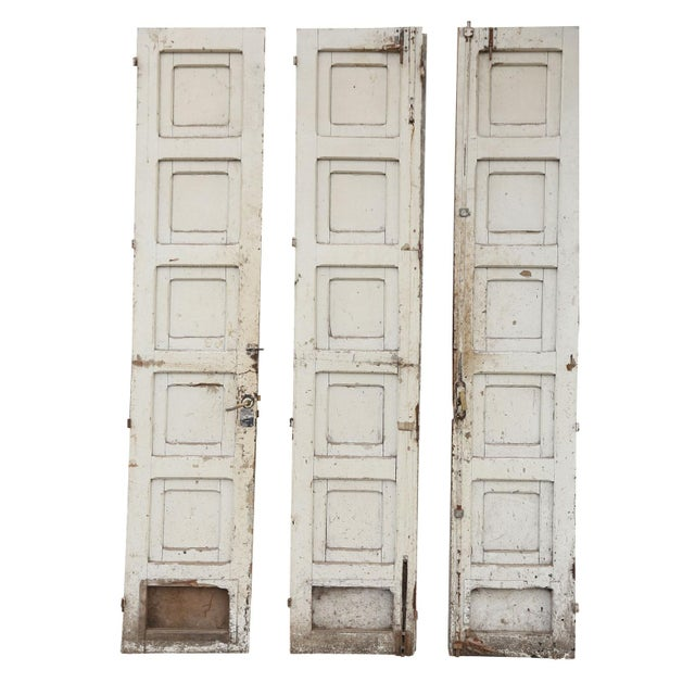 Three Antique French Doors For Sale - Image 4 of 11