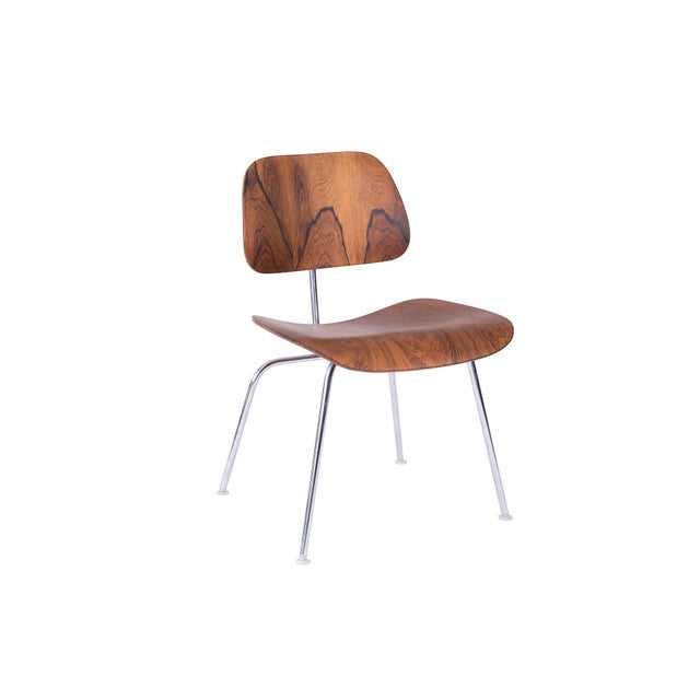 Eames for Herman Miller Rosewood DCM Chair For Sale In Phoenix - Image 6 of 6