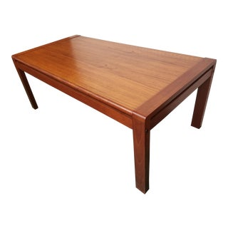 Danish Mid Century Coffee Table For Sale
