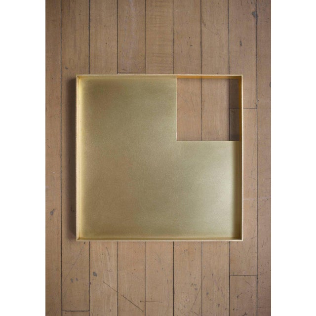 This contemporary tray made of brass is part of the Orphan Work brand and can be used as an table top object. ORPHAN WORK...