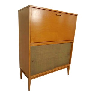 Paul McCobb Drop Front Cabinet For Sale
