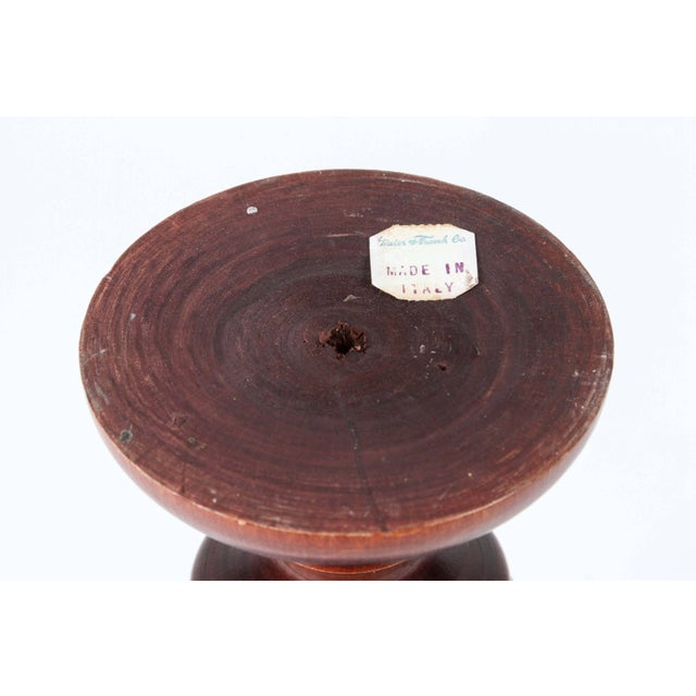 Wooden Mortar and Pestle, Italy For Sale In Los Angeles - Image 6 of 7