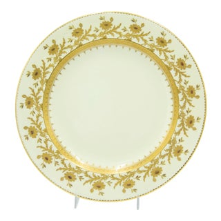 French Victorian Tiffany Porcelain Plates - Set of 12 For Sale